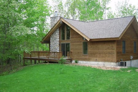 Betsie River Nature Retreat - Thompsonville - Casa