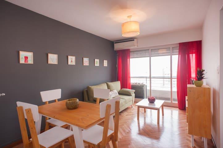Bright 2br apartment in Recoleta! - Buenos Aires - Apartament