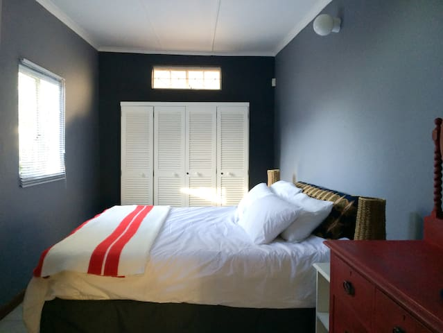 Comfy bedroom for a great night's sleep