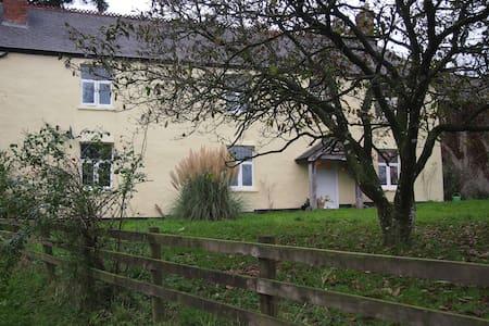 Characterful 3 Bed Exmoor Farmhouse - Morebath - Maison