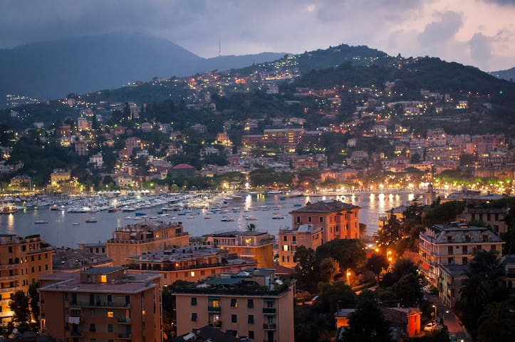 Calm place panoramic sea view FREE WI-FI - Rapallo - Apartmen