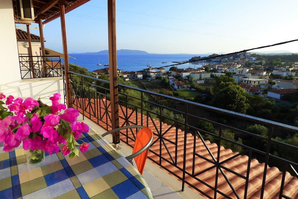 Welcome - Balcony view