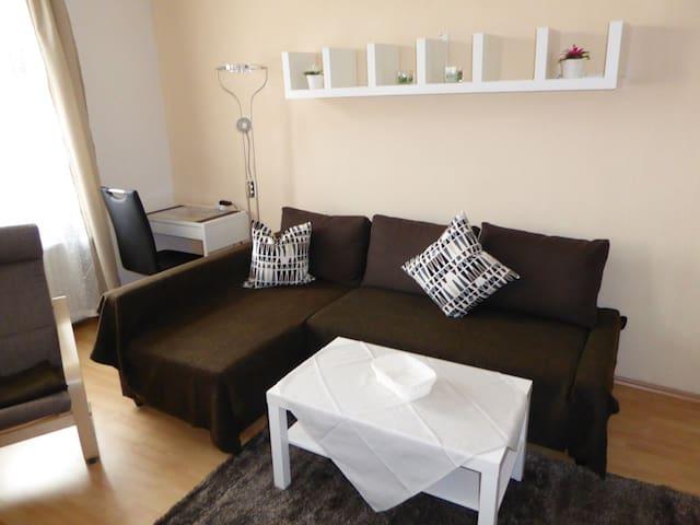 2-Raum Appartement vollständig ausgestattet 24 - Erfurt - Lägenhet