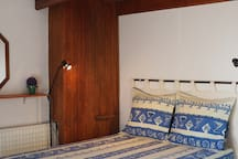 Double bed in second bedroom