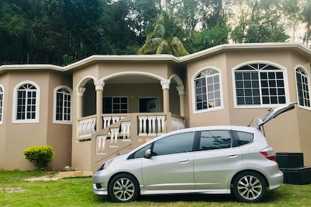 Home with a view & Car rental