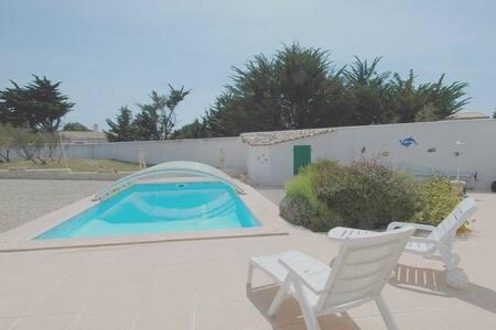 Villa avec piscine à proximité de la plage - Ars-en-Ré