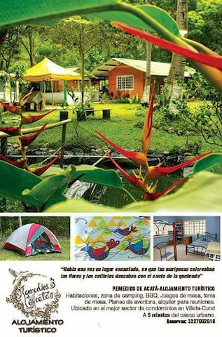 Quinta de verano en Villeta - Villeta - House
