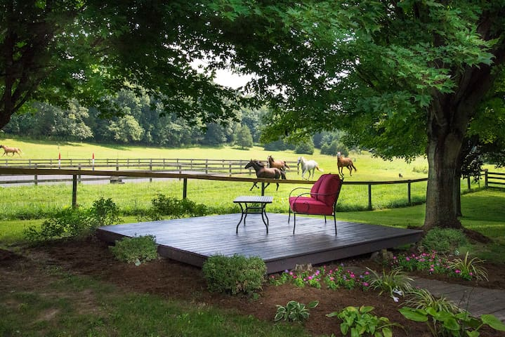 Guest House on historic estate and horse farm