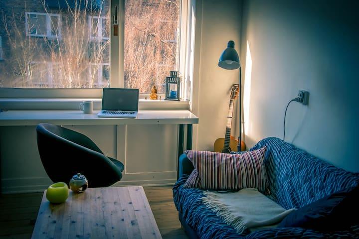 Cozy room in Nørrebro - Kopenhagen - Wohnung