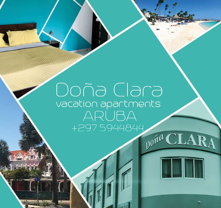 Dona Clara Apartment # 1 good for max 3 persons