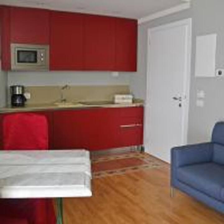 Residenza Diana su due livelli in centro a Maderno