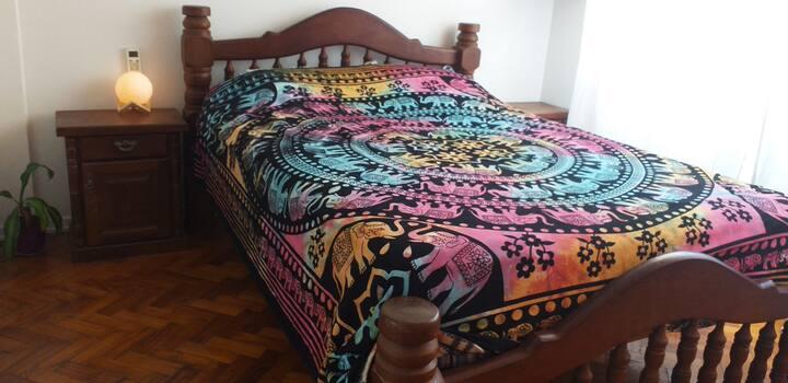 Departamento un dormitorio luminoso y acogedor