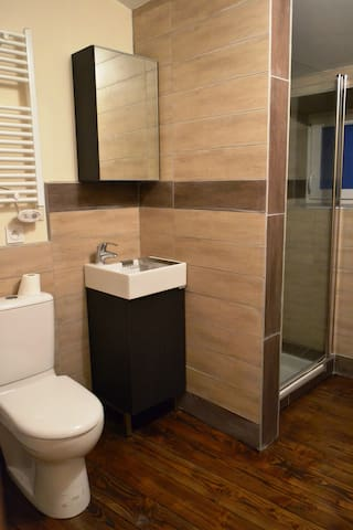 STUDIO avec salle de bain privative - Satillieu - Apartament