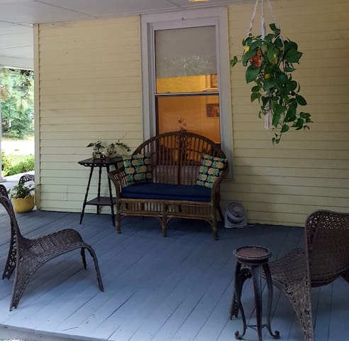 Great wrap around porch for relaxing