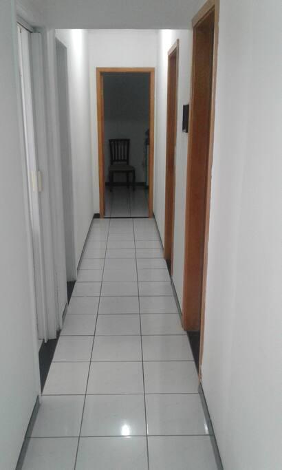 Corredor do apartamento