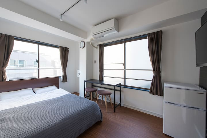 ASAKUSA 5mins/Private room/Newly built/S Double