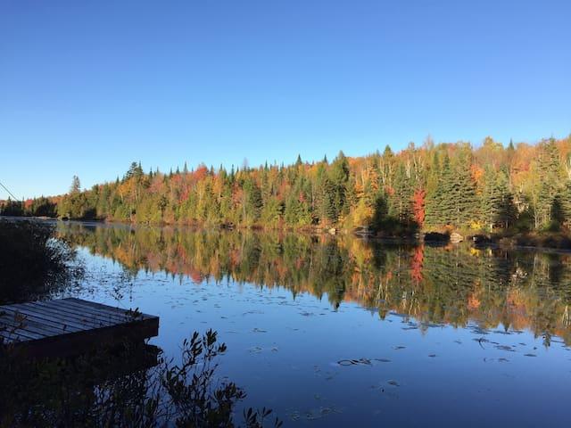 Chalet rustique familial - Lac Lafond - Chertsey