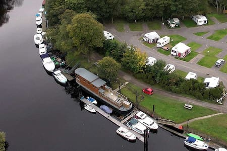 YORK HOUSEBOAT. 3 Single Beds Bunkroom - Bishopthorpe - Boot