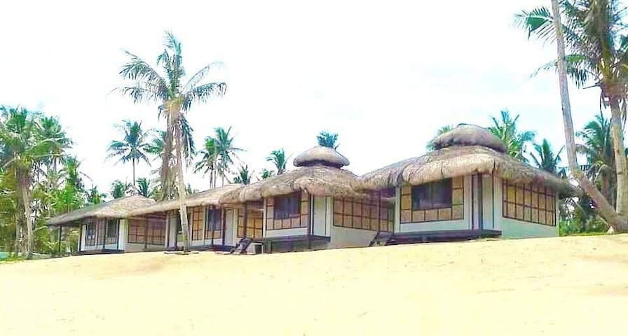 Beachfront Cabanas for overnight accommodation