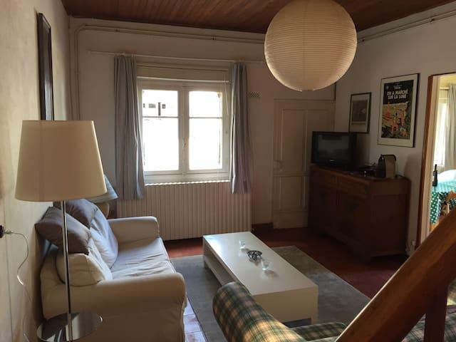 Petite Maison Avec Terrace - Meilhan-sur-Garonne - Casa
