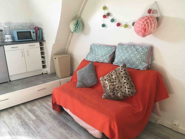 Studio cozy | 16ème | 5 min de Trocadéro
