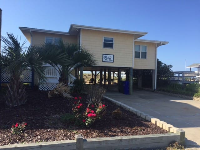 Oceanfront- Outta the Blue at Holden Beach - Holden Beach - Ev