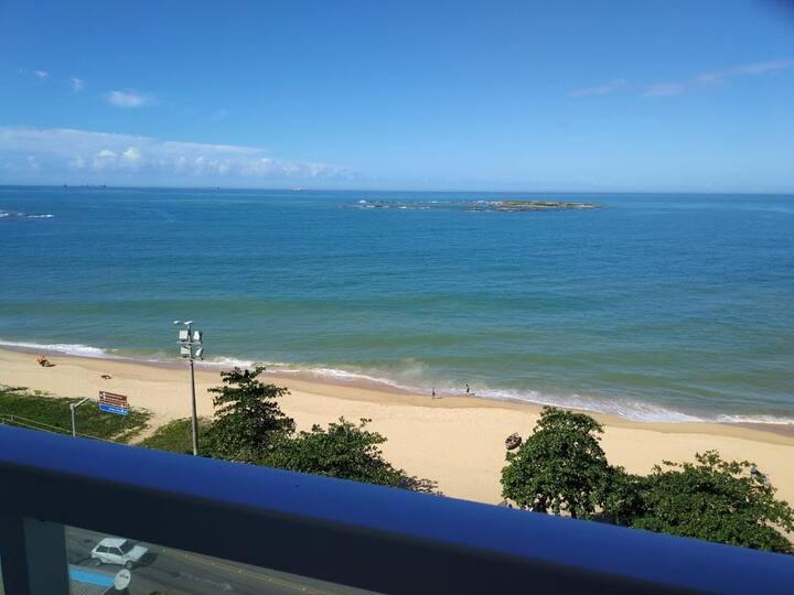 Linda vista para o mar de Itapuã