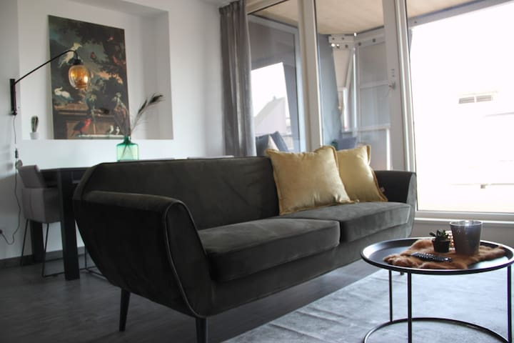furnished 2 bedroom center apartment with parking