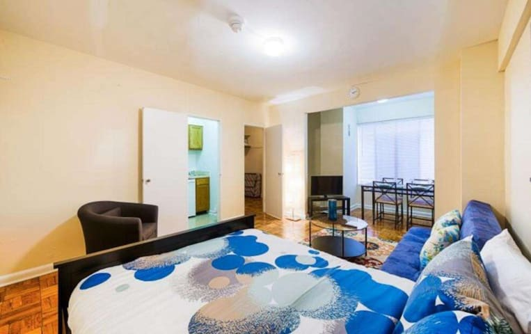 Clean and clean 1 bedroom apartment