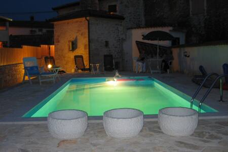 House with Pool - Tar Vabriga, Near Porec, Croati - Tar