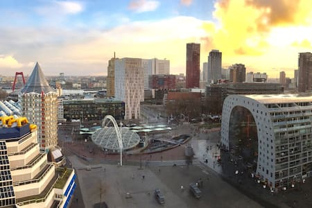 Spacious, Stunning view & Opposite Market Hall - Rotterdam