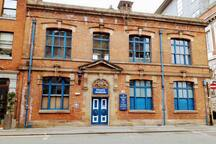 Greater Manchester Police Museum - 1 block away