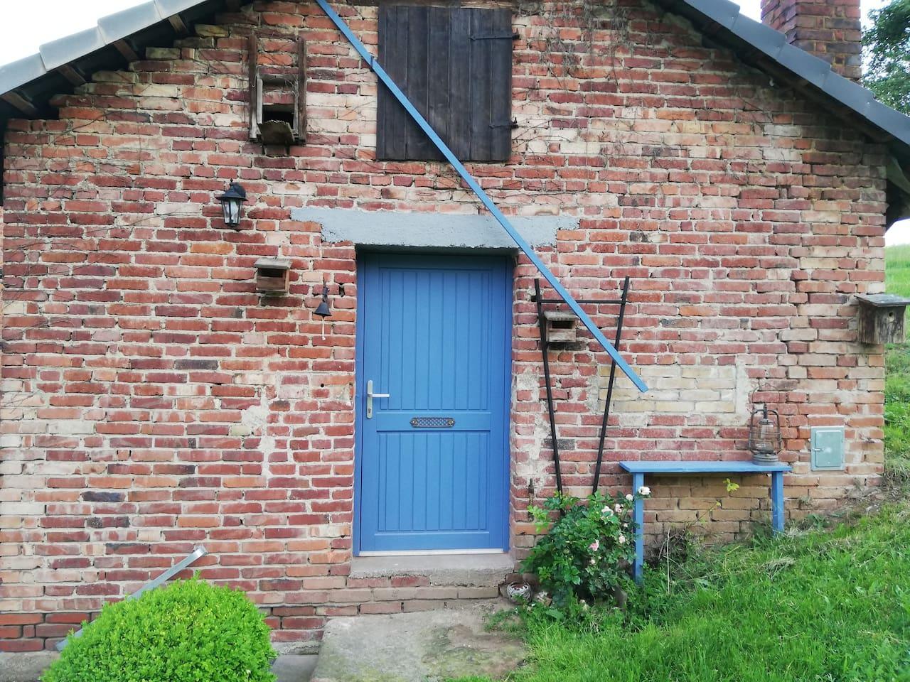 Außenansicht der Alten Tischlerei, unser Ferienhaus in Eschwege, Niddawitzhausen