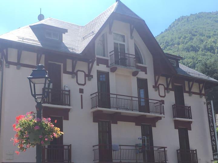 Studio à 20 mn station de ski Gavarnie-Gedre