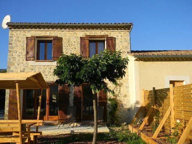 le cabanon en drôme provençale avec jardin - Sainte-Jalle - Lainnya