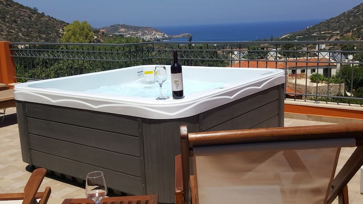 MELORI VILLA Luxury Sea-View  Bali Rethymnon CRETE