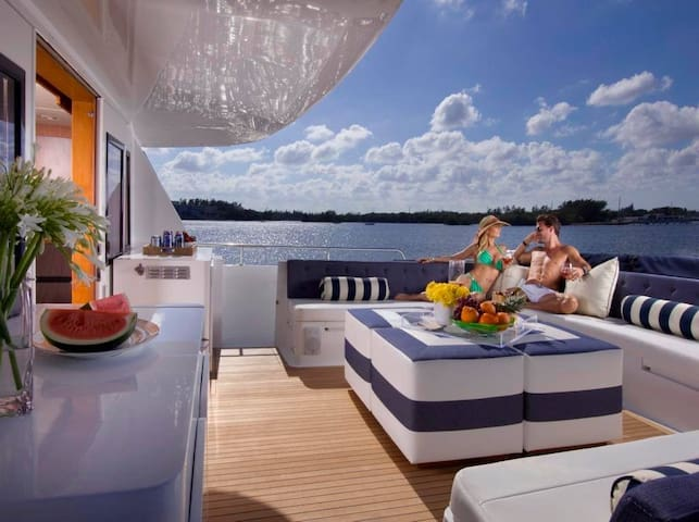 104 Foot Floating Bed and Breakfast - Miami Beach - Barco