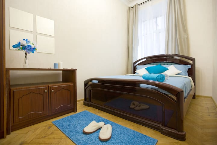 Big Apt, Nevsky prospect, City Center, room #2 - Sankt-Peterburg - Appartamento
