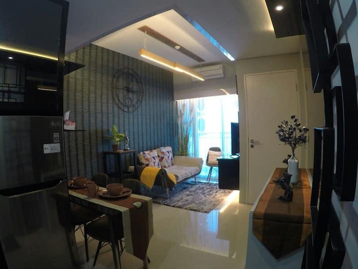 2 bedroom apartment at Pakuwon Mall Surabaya