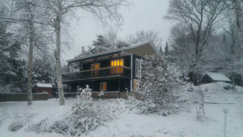 Laurentians 4 bedroom lake front cottage