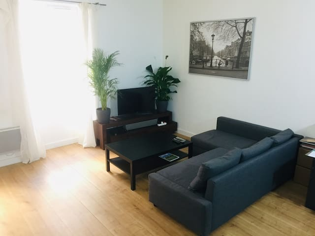 Charmant appartement T2 avec cours privative