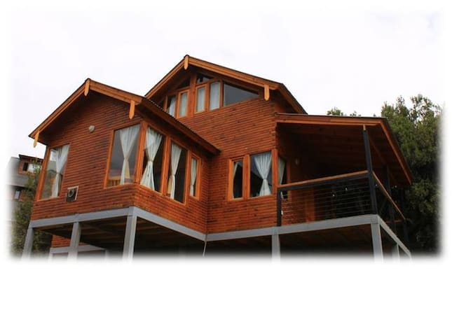 Cabaña de madera en Villa Pehuenia