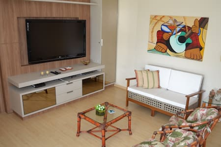Lindo Apartamento de 2Q em Jurerê à 350m da praia - Florianópolis