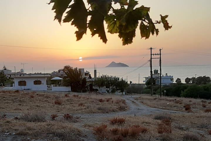 K*Sunset view•near sea•Kalamaki•Crete•Katerina's*