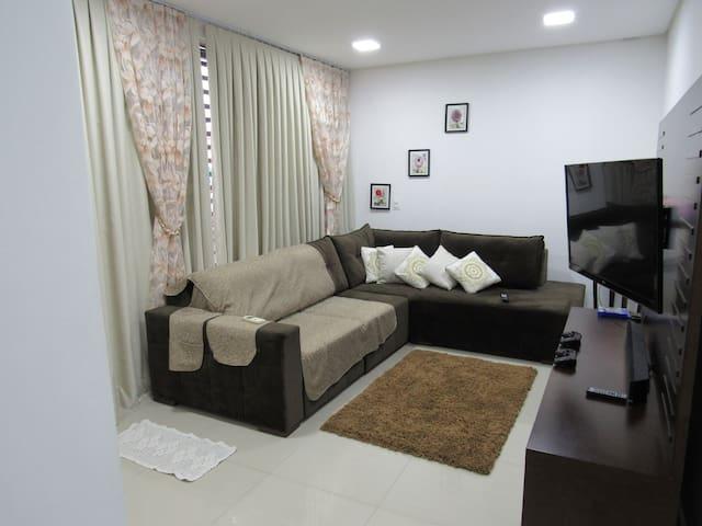 Apartamento novo no centro da cidade 30%off - Foz do Iguaçu - Apartment