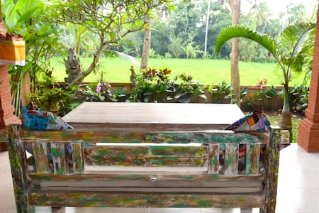 Capung House! Magical stay in front of rice-fields - Ubud