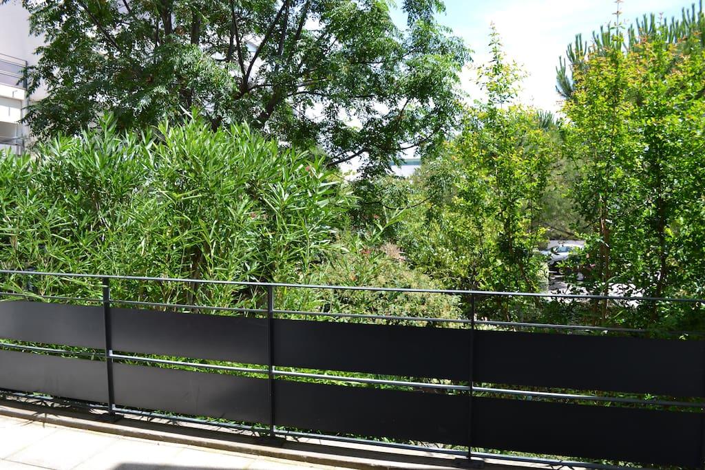 belle terrasse de 25m2