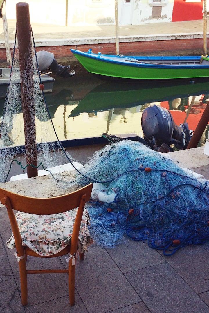 Burano: isola di pescatori