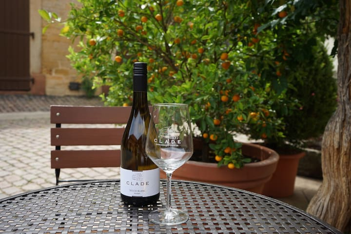 Zimmer im historischen Weingut