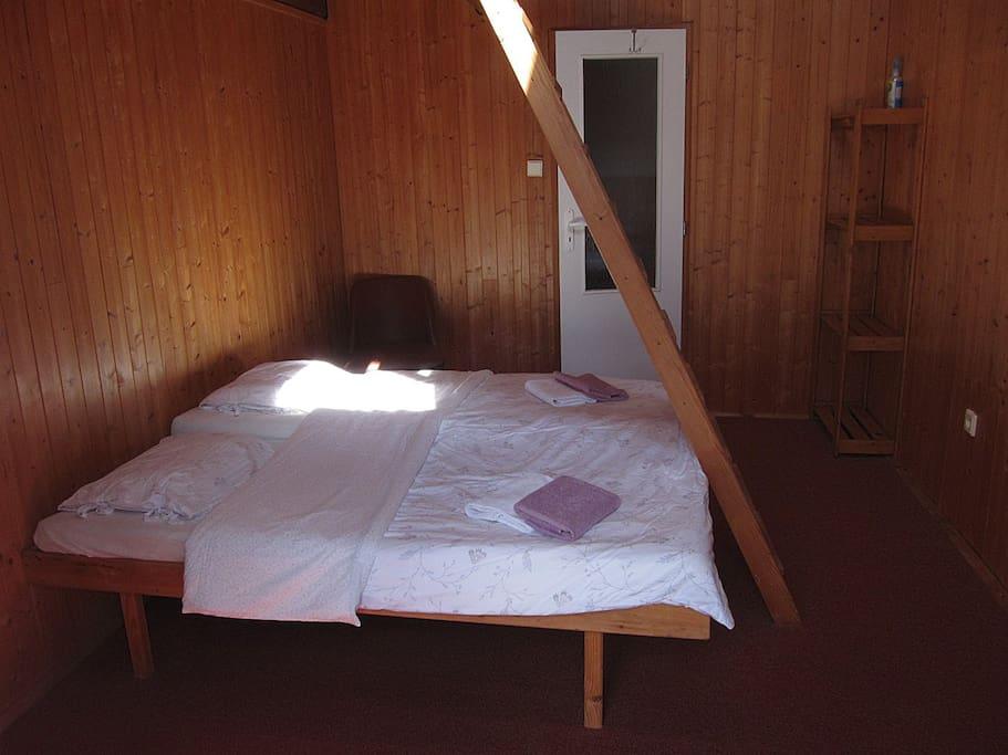 Postele se dají rozdělit / Beds can be separated